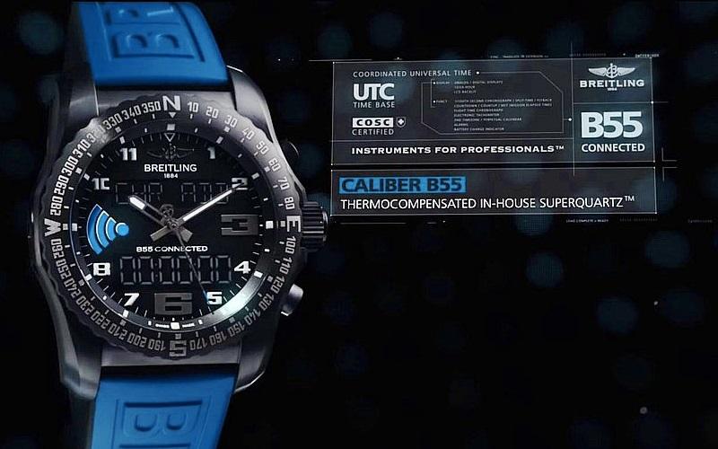 Breitling interpreta a su manera los smartwatch