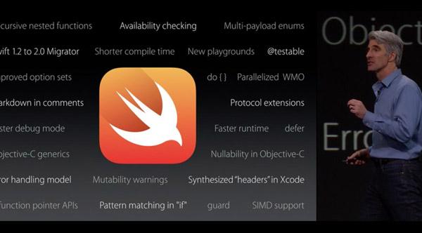 El lenguaje de programación Swift será de código abierto