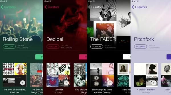 El catálogo de iTunes