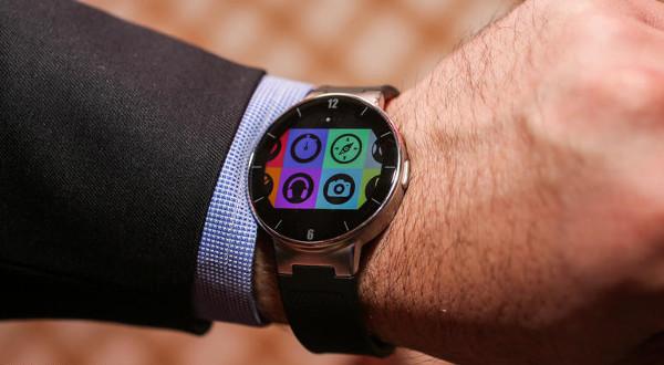 Así es el nuevo smartwatch de Alcatel