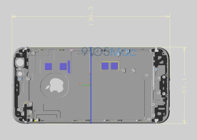 Medidas iPhone 6s
