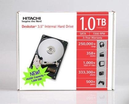 Hitachi surtirá discos duros a Asus: 1TB de datos para llenar