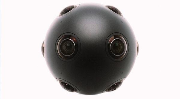 OZO cuenta con 8 sensores,  8 lentes y  8 micrófonos