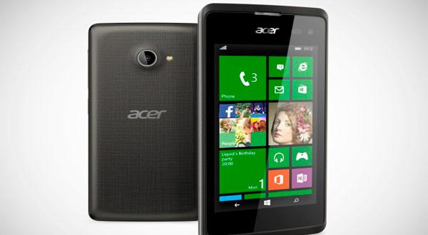 El Acer Liquid M220 fue el primero con Windows Phone