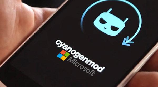 Cyanogen tendrá una alianza con Microsoft