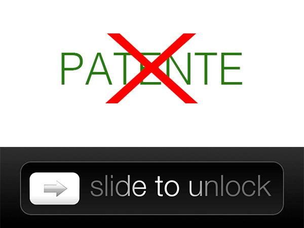 Apple pierde la patente 'Deslizar para desbloquear' en Alemania