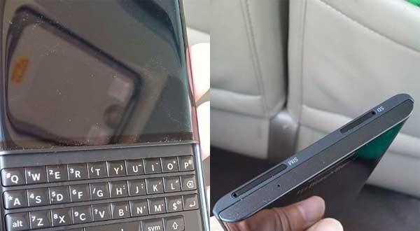 Detalles BlackBerry Vernice