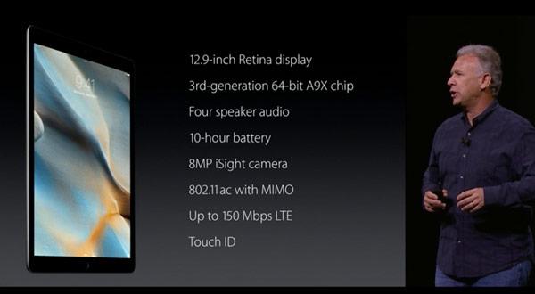 Apple hace oficial el nuevo iPad Pro, su nueva tablet de 12,9 pulgadas