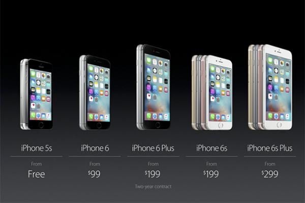 Precio de los nuevos iPhone 6S