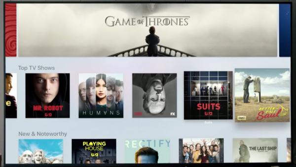 El nuevo Apple TV con