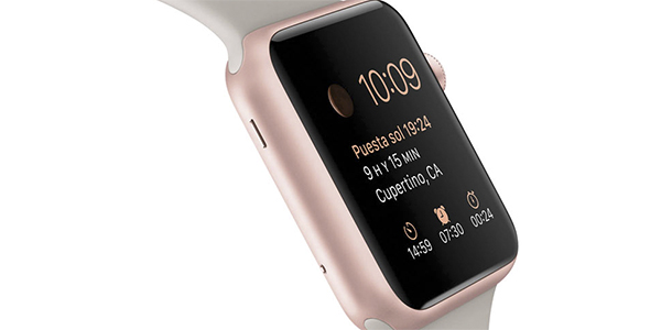 Apple Watch Sport oro rosado