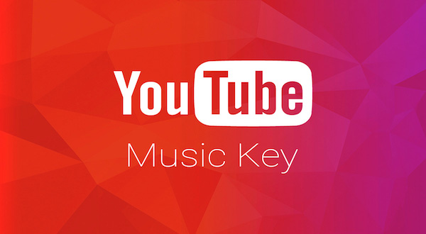 Logotipo de Youtube Music Key