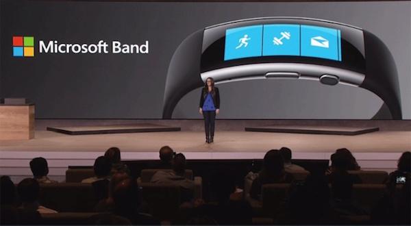 Presentación de Microsoft Band 2