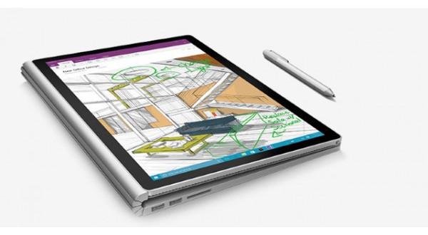La batería del Surface Book dura hasta 12 horas