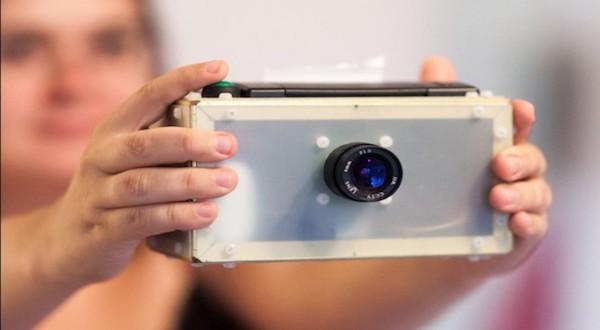 Esta es la cámara PolaPi