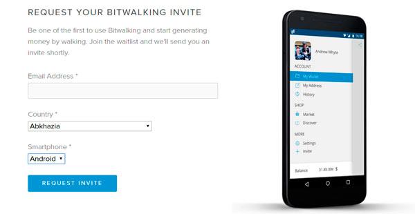 Bitwalking, la aplicación que quiere pagarte por andar