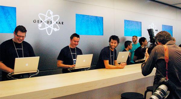 Apple podría estar preparando una aplicación oficial de soporte técnico para liberar las Genius Bar
