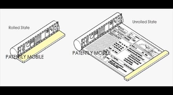 Así sería el aspecto de la patente de Samsung