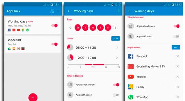 Appblock, la aplicación que hará que no te distraigas mientras trabajas