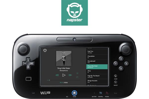 Así lucirá Napster en Wii U