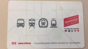 La nueva tarjeta de transporte público cambia de forma pero realmente no cambia nada