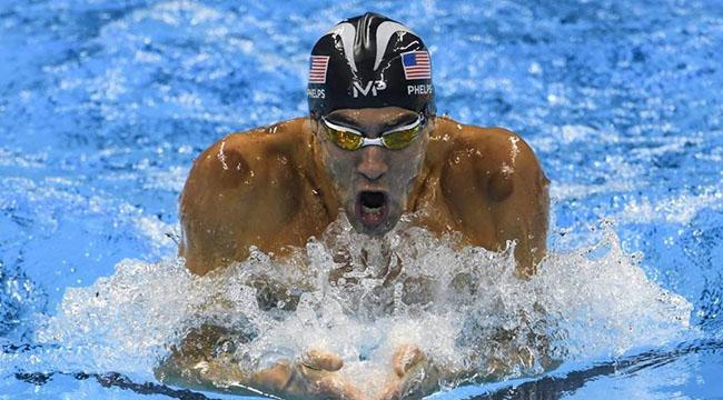 Michael Phelps, donde se le ven los moratones del cupping