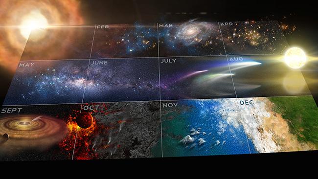 El calendario del Universo, impactante momento de Cosmos