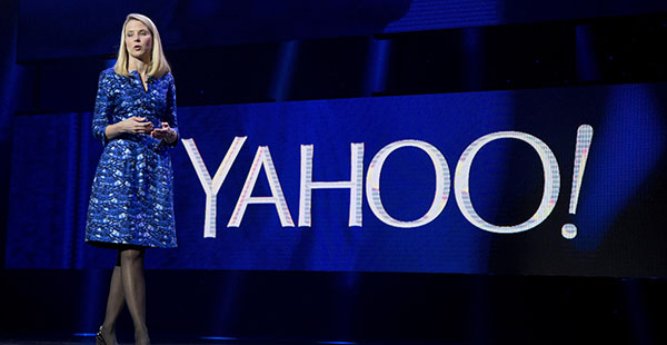 Marissa Mayer anuncia la venta de Yahoo a Verizon