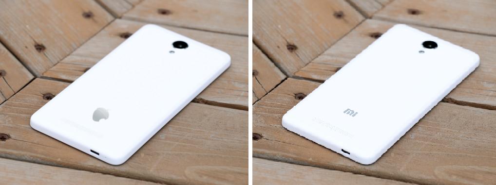 <br>ZETTA Conquistador 5.5 comparado con un Xiaomi Redmi Note 2