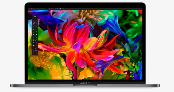 La pantalla de MacBook Pro