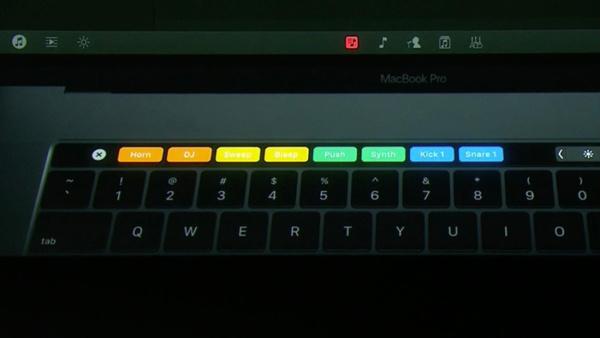 El principal atractivo de MacBook pro, Touch Bar y Touch ID