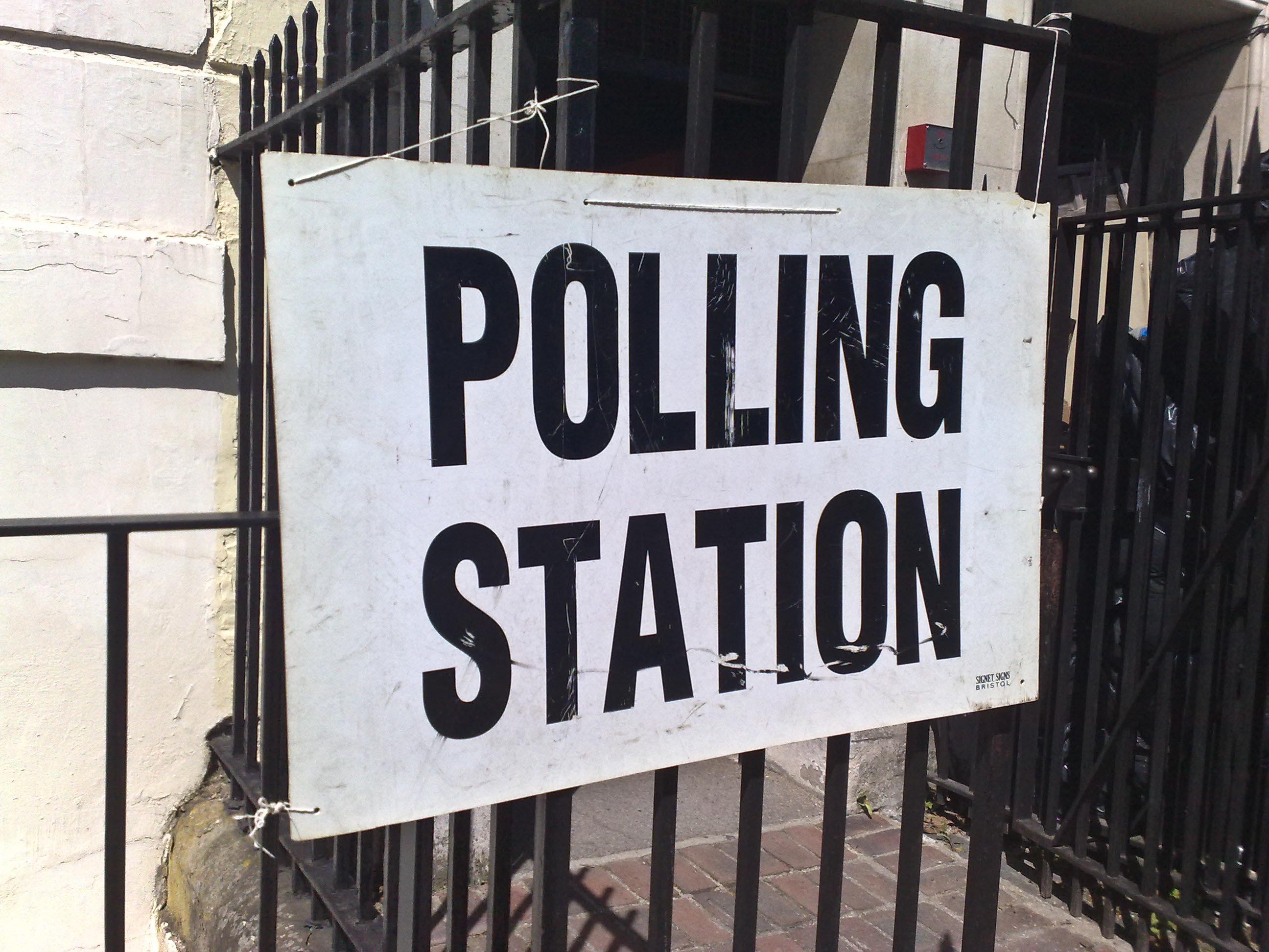 Estación de voto