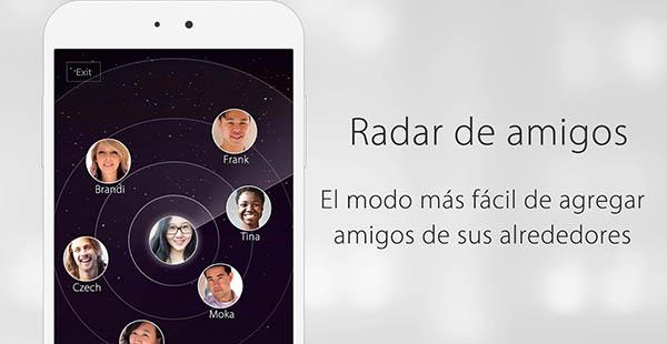 WeChat te permite conocer a gente nueva