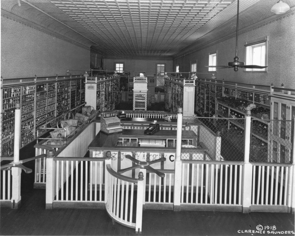 Piggly Wiggly, el primer supermercado de autoservicio