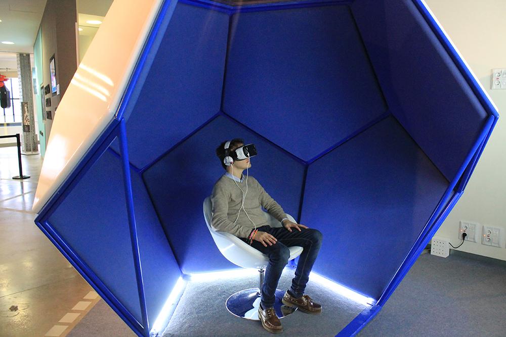 Espacio Fundación Telefónica con Realidad Virtual