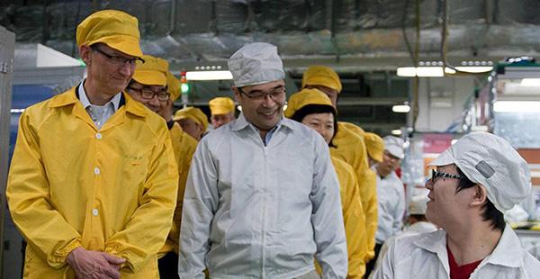 Apple podría trasladar sus fábricas