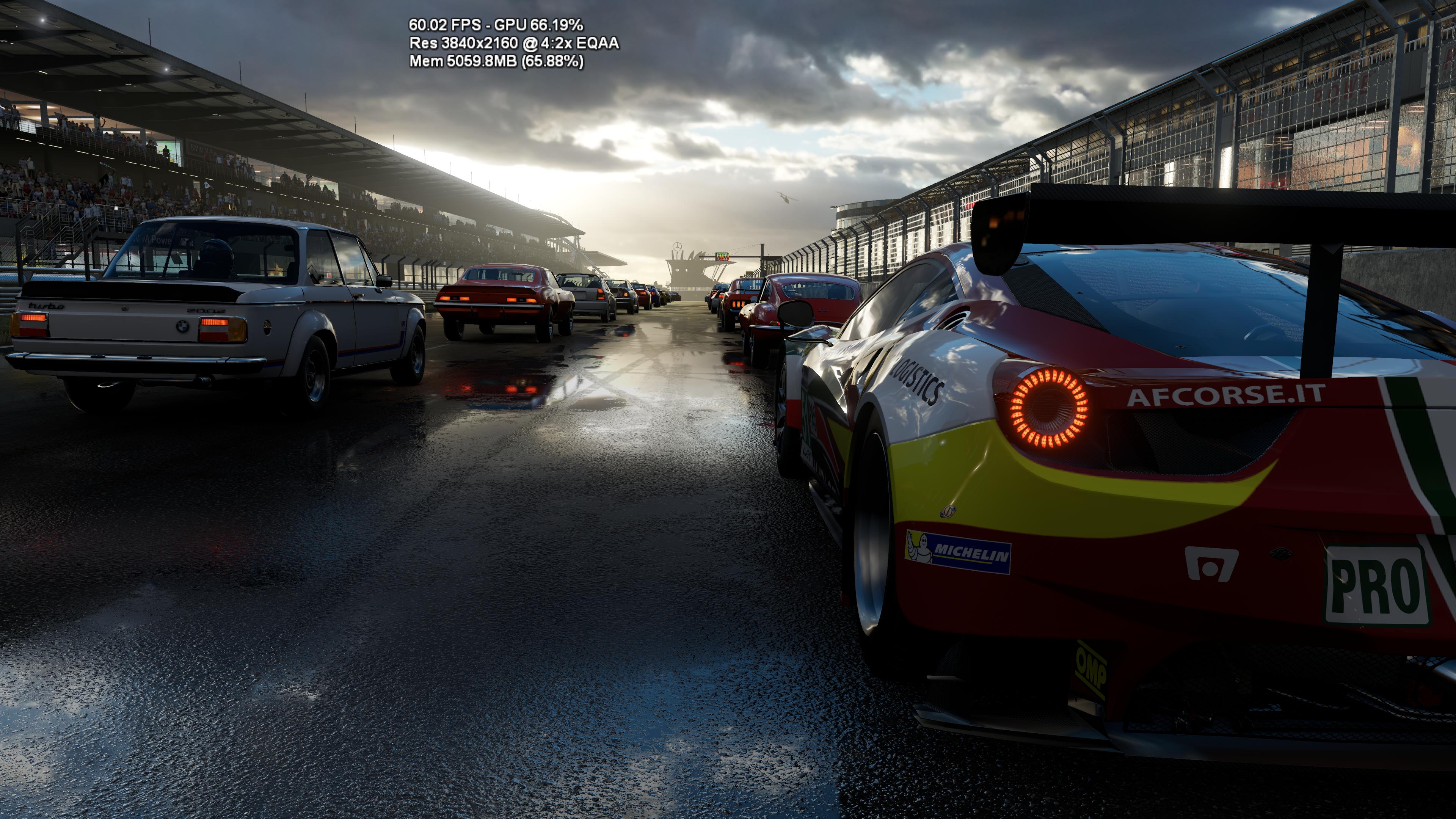 Imagen de la demo de Forza Motorsports en Project Scorpio