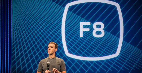 Mark Zuckerberg en la conferencia
