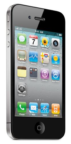 Pantalla principal del iPhone 4