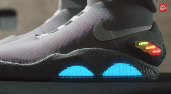 Las 'Nike Air MAGs' se crearon con el fin de recaudar fondos para caridad con su venta