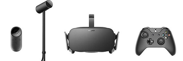 Pack de compra del Oculus Rift