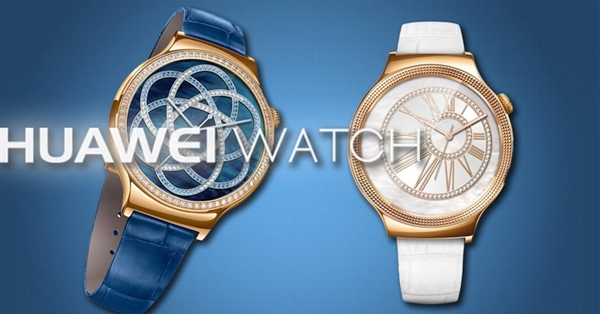 Huawei Watch Jewel y Elegant.