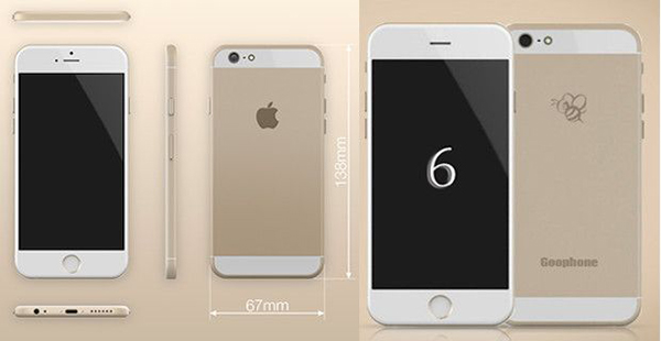 iPhone 6, comparativa del original y el falso