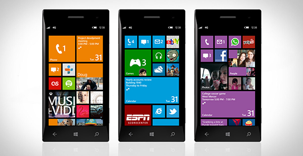 Lumia con Windows Phone