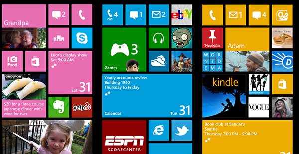 Apariencia de Windows Phone