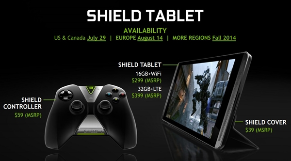 Nvidia Shield Tegra K1
