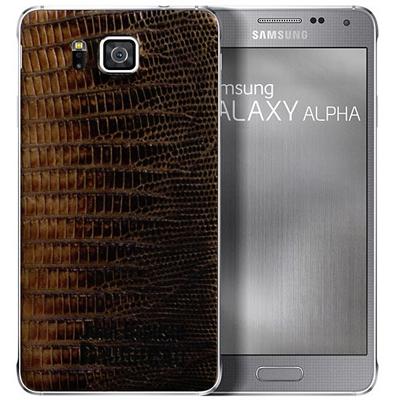 Samsung Galaxy Alpha Snakeskin