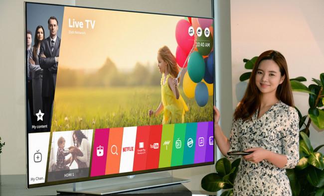LG mostrará sus televisores con WebOS 3.0 en el CES 2016