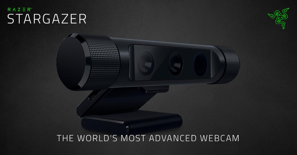 Razer anuncia su webcam Razer Stargazer