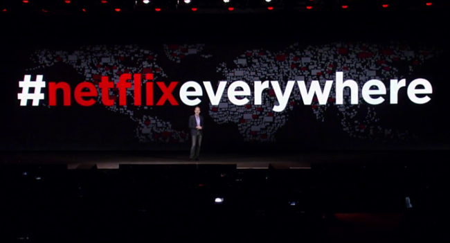 Netflix ya llega a casi todos los países del mundo, le falta China